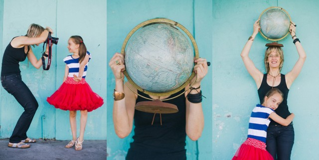 Louise,Coco,globe