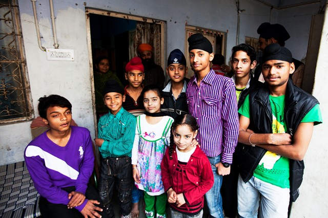 residents of the gurudwara :: 1