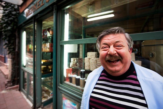 Mustafa and the 134 year old sweet shop