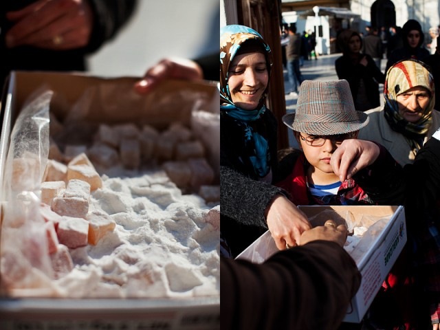 Turkish Delight, bringing the genders and generations together like no prayer can