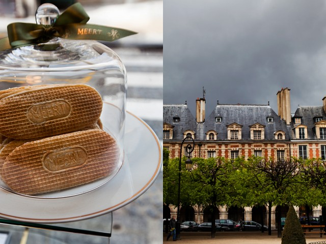 Place de Vosges residents have eaten Meert's waffles for 200+ years
