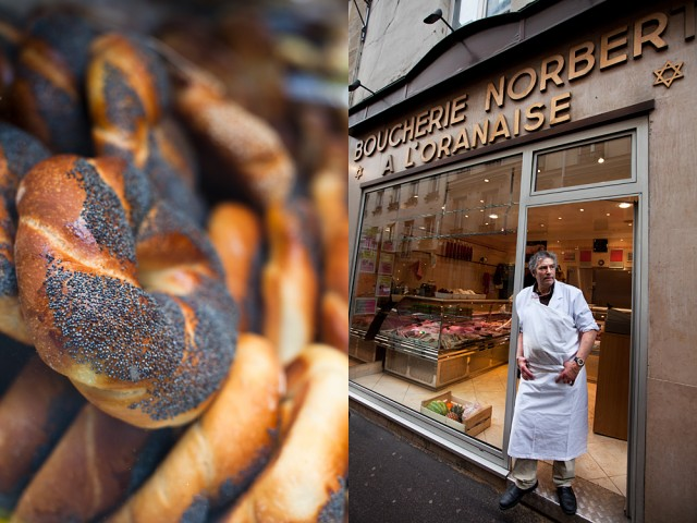 bread and butcher, Jewish style
