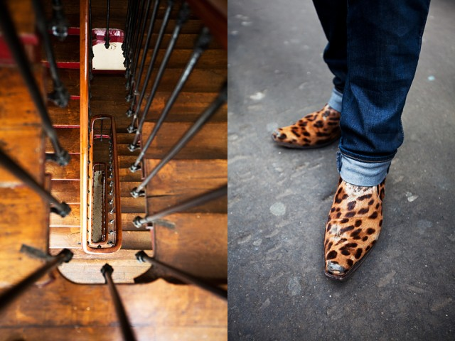 walking shoes, Paris style