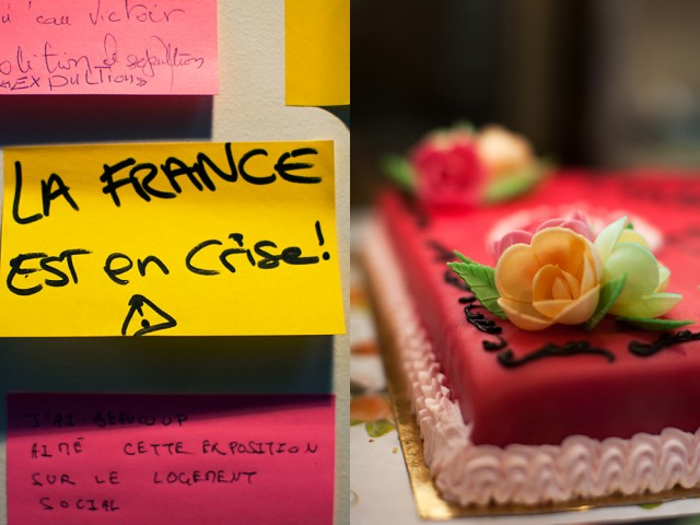 what will Sarkozy's response be - let them eat cake?