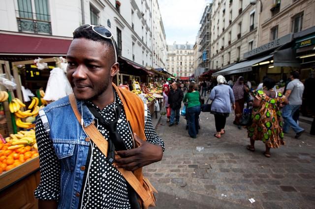 Zongo, fashion designer