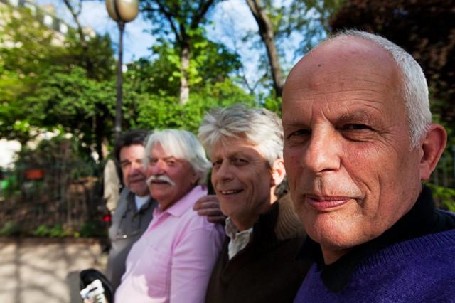 boule boys - Patrick, Raymond, Giles, Jacques