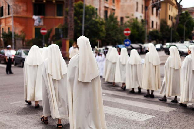 a superfluity of nuns
