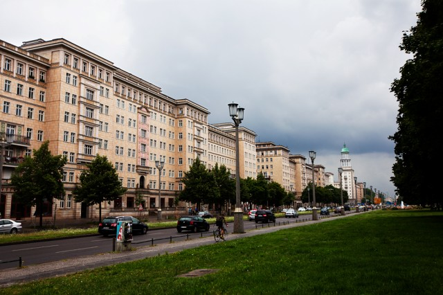 just a facade - Karl-Marx-Allee, the showcase avenue of the GDR