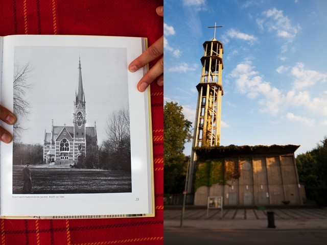 then and now - the church