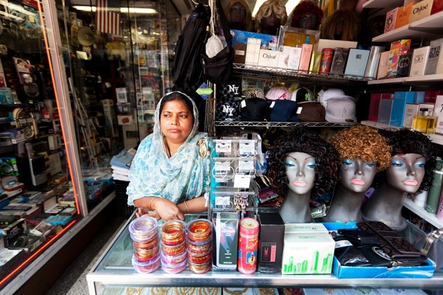 Fauzia on Jamaica Avenue, servicing a mainly black clientelle