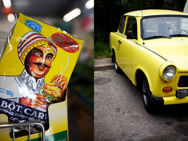 I'll swap you my nice curry chicken for your Trabant