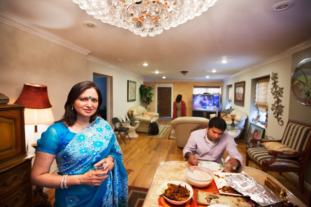 'Kainath's not home but come in and have something to eat' - Nargis