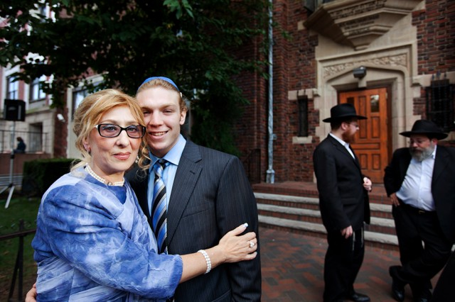from Russia with love - the groom's Russian mum and brother