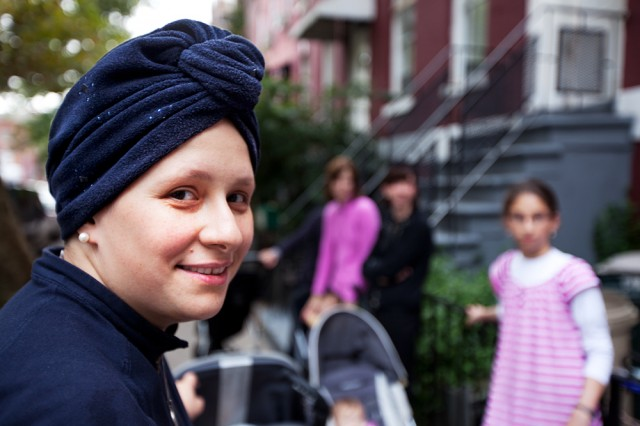 the turban is worn around or near the house - Rachel