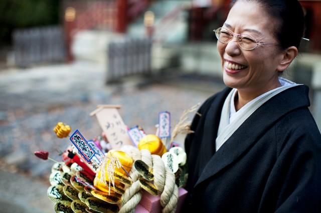 one of Misato's 100 kimonos