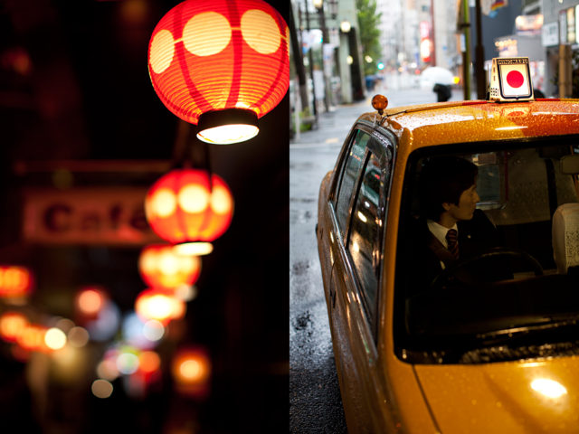 too much sake? take a taxi home