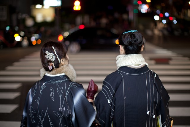 heading home -Yasuko and Emiko :: 1