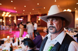Bill, father of the groom