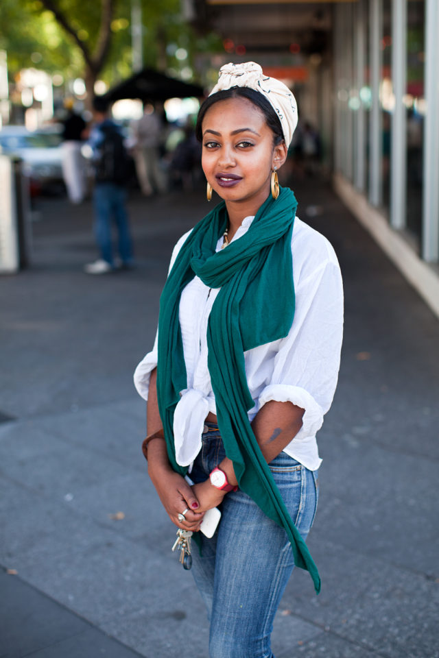 Duaa, 22, born and bred in Western Melbourne by parents from Eritrea