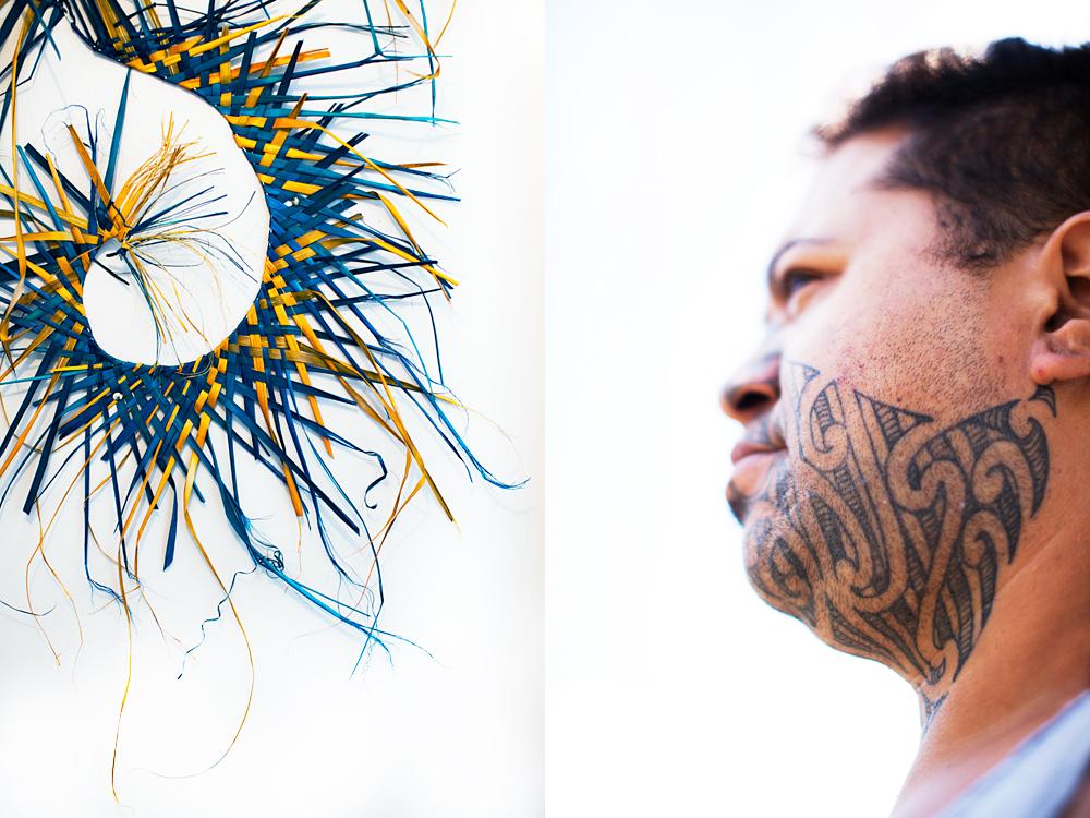 """half Samoan and half Maori but I feel more Maori"""" :: 2"""