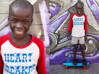 Ngor, 6, from the recently created South Sudan
