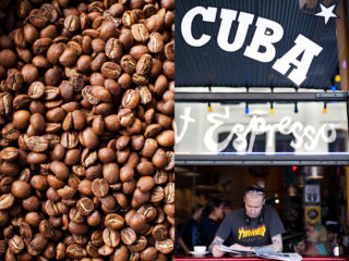 coffee culture on Cuba