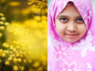 flower girl - Hind from Uzbekistan