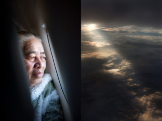 flying back to her adopted home, Auckland - Elizabeth, originally from Samoa