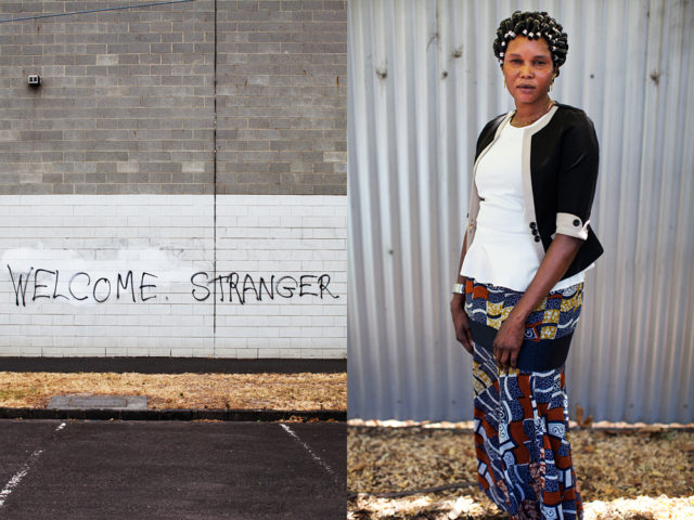 the latest strangers to be welcomed into Footscray - Africans