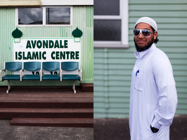 the only domes at the Avondale mosque