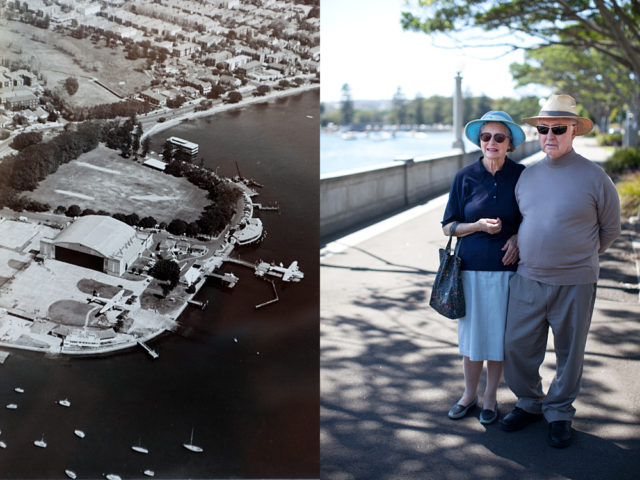 Valerie arrived in Sydney 66 years ago, landing at Sydney Water Airport, Rose Bay