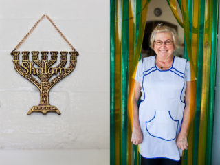 """When do I see my husband? For Shabbat, on Friday night, I love it!"" - Barbara"