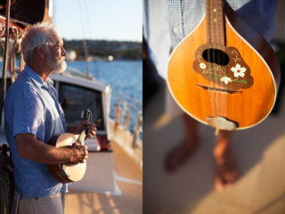 """""""It's my dad's mandolin"""""""
