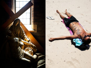crucifying himself - Matteo in the midday sun :: 2