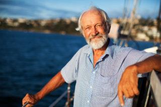 five years in the making - Lars on board Nanok