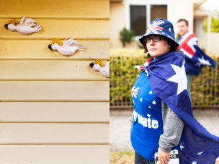 patriotism in the burbs - Australia Day, West Footscray