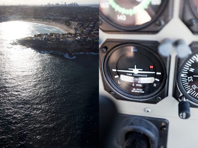 turn left at Bondi to circle back