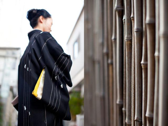 "21. ""it's my hobby"" – Emiko in her mother's kimono"