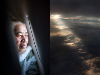 30. flying back to her adopted home, Auckland - Elizabeth, originally from Samoa