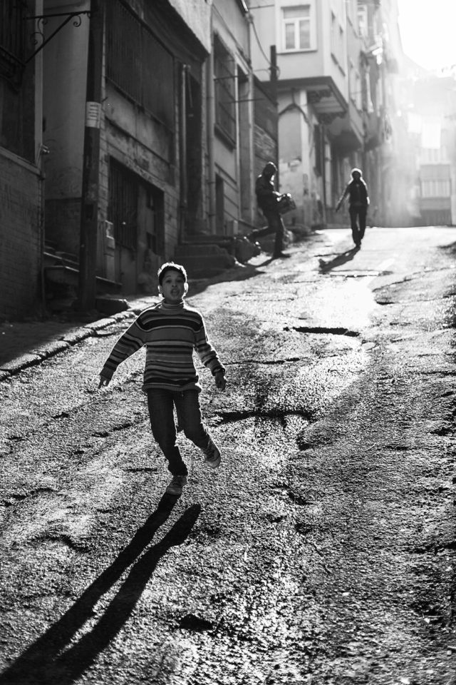 it's a child's playground now, Istanbul [b&w]
