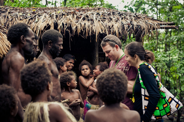 Tasmin Brown in Vanuatu for Portrait Equality