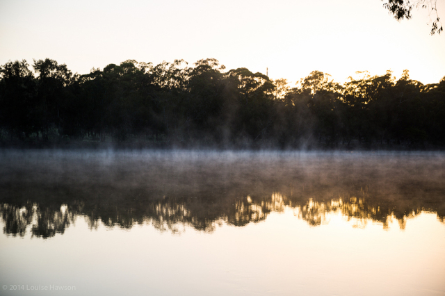 daybreak on the Georges River :: 3