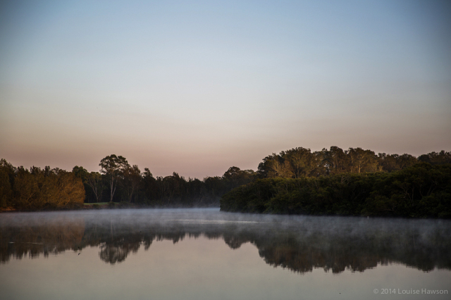daybreak on the Georges River :: 2